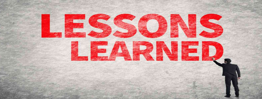 LessonsLearned